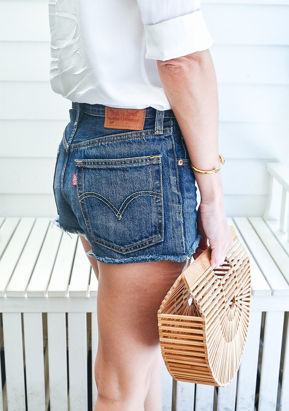 LEVI'S 501 Denim Cutoff Shorts
