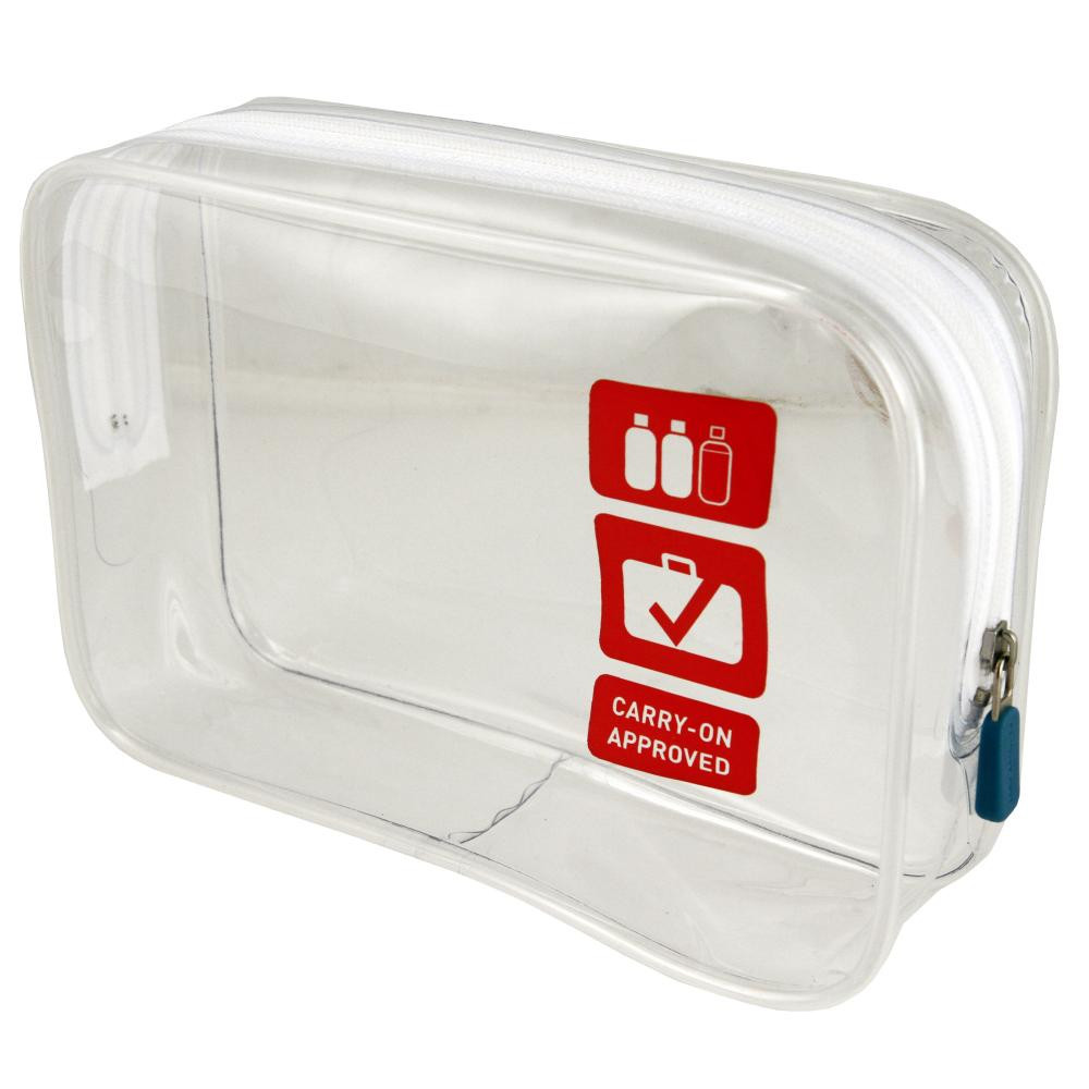 FLIGHT001 Waterproof Clear Toiletries bag┃ 10 Essential Airplane Carry-On Accessories ┃ A Style Alike