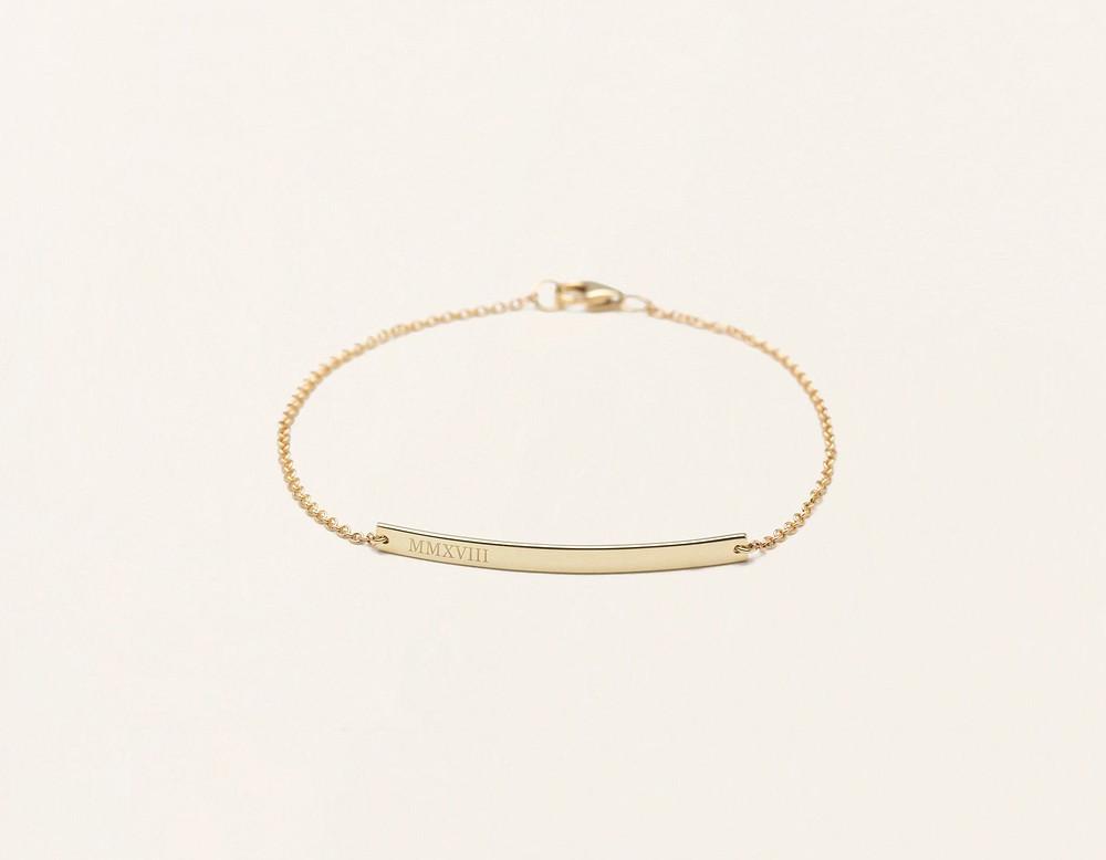 VRAI & ORO Gold Bar bracelet | 8 Most-Worn Jewelry Pieces | Fashion | A Style Alike