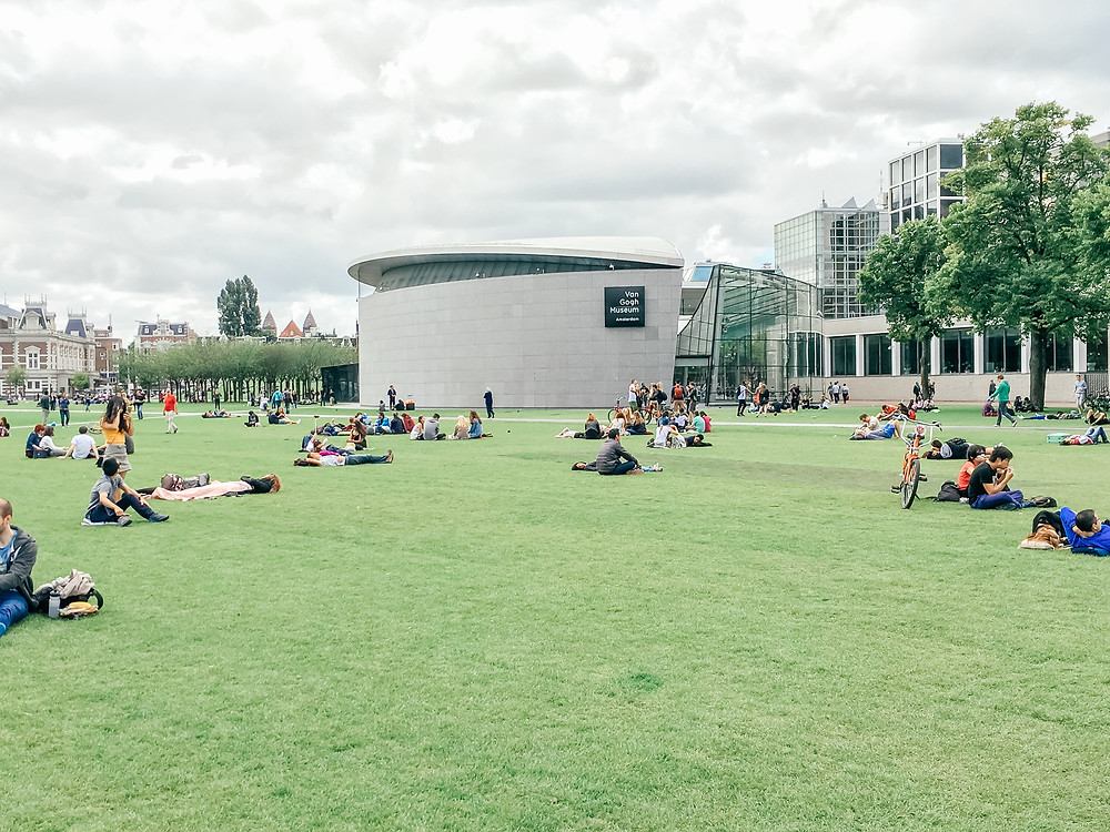 Amsterdam Museumplein.A Guide to Amsterdam l A Style Alike l Travel Guide l 5 Days in Amsterdam