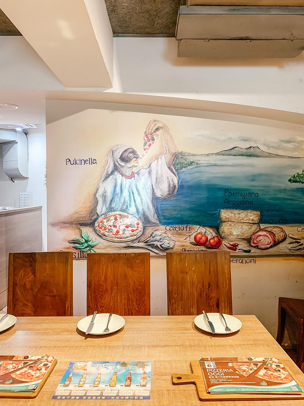 Pizzeria Oggi l Italian Restaurant l Taipei Restaurant l A Style Alike