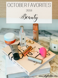 October Favorites l Beauty Products l A Style Alike