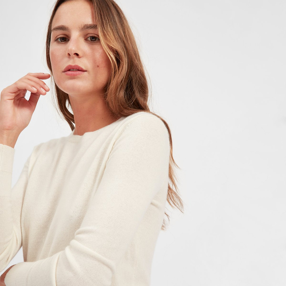 EVERLANE Cashmere Sweater | 20 Cozy Knits for Fall 2018 | Fashion | A Style Alike