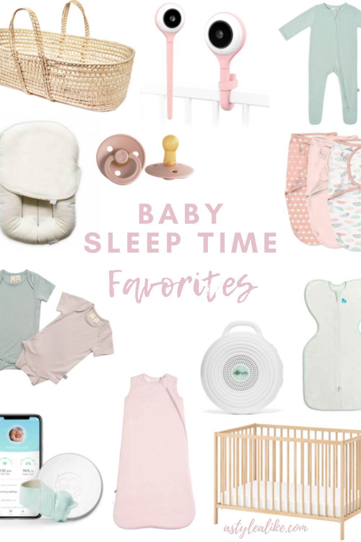 Baby Sleep Time Favorites | A Style Alike