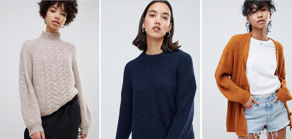 ASOS Sweaters & Cardigans | 20 Cozy Knits for Fall 2018 | Fashion | A Style Alike