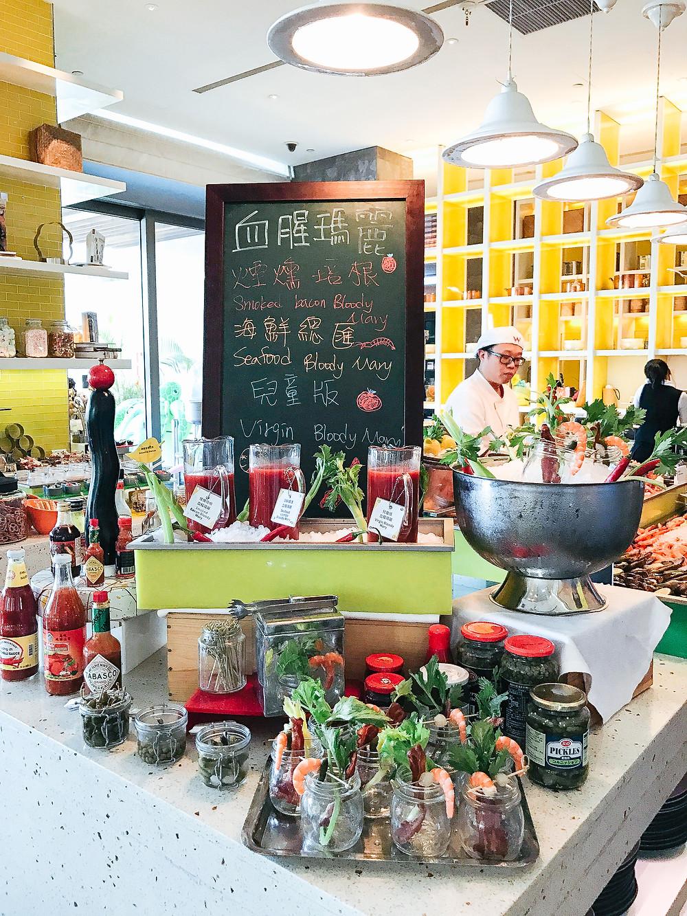 The Kitchen Table @ W Taipei