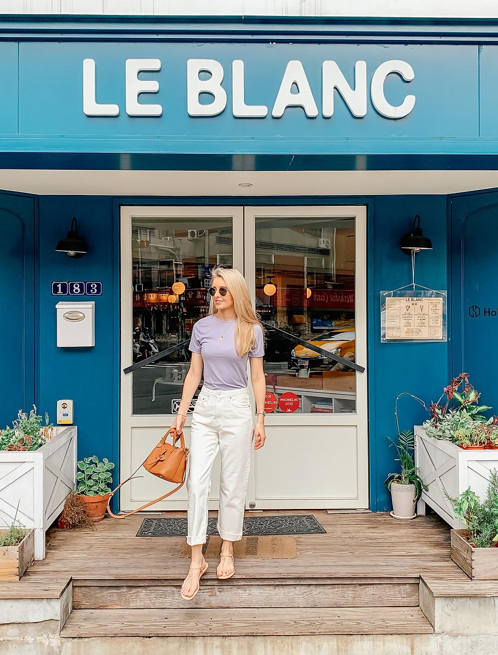 Le Blanc | Taipei Restaurant | A Style Alike
