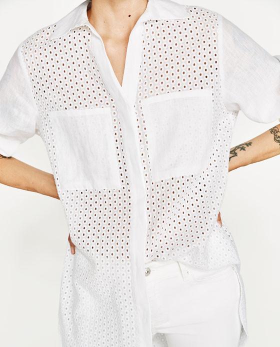 Zara Lined Tunic