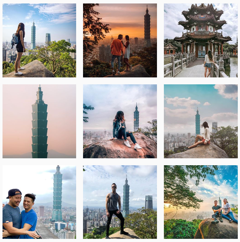 Taipei 101 from Elephant Mountain | 14 Popular Instagram Spots in Taipei | Travel | A Style Alike