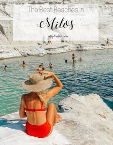 A Milos Beach Guide l The 5 Best Beaches l A Style Alike