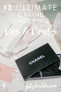 13 Ultimate Online Shopping DOs and DON'Ts
