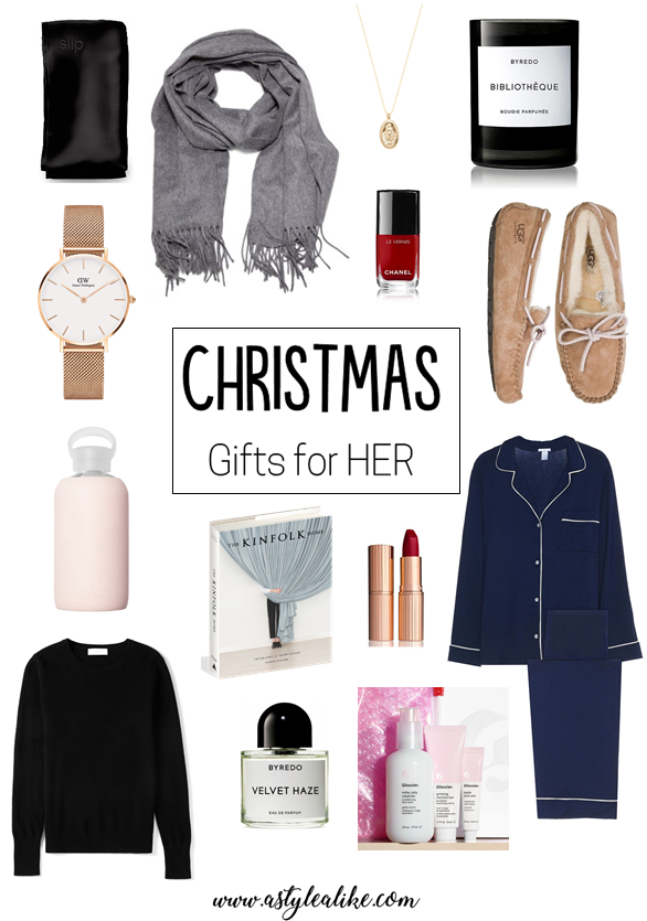 Christmas Gifts for HER 2017 A Style Alike