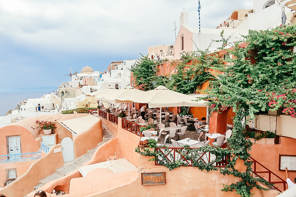 A Foodie's Guide to Santorini l Greece Travel Guide l A Style Alike