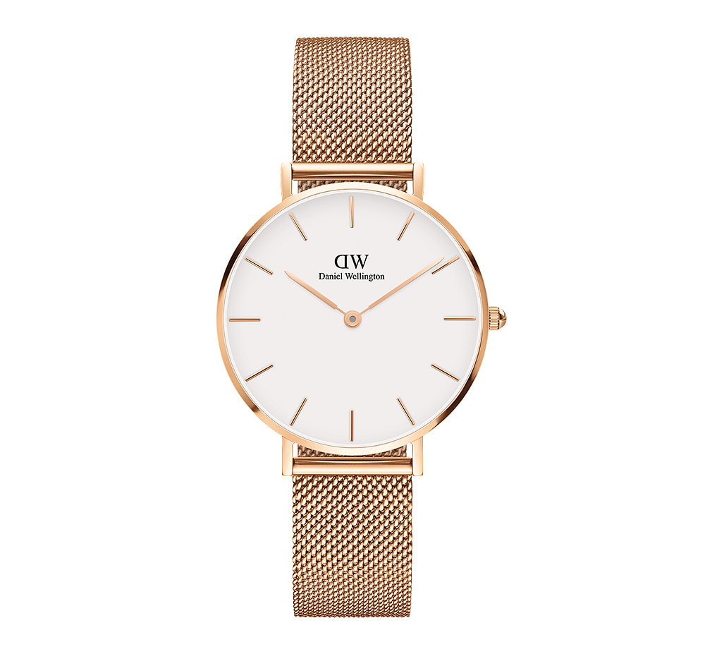 Daniel Wellington Classic Petite Melrose in Rose Gold