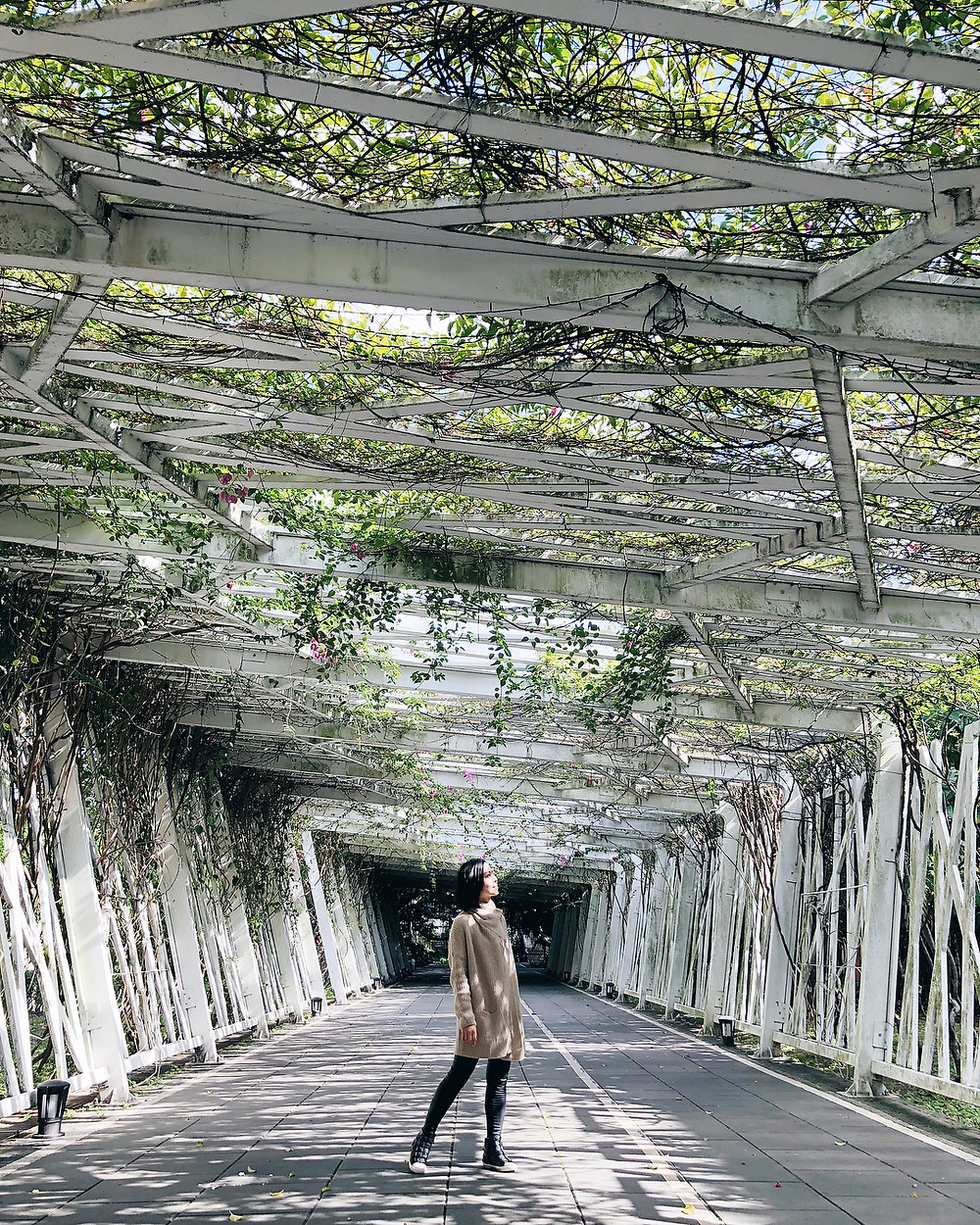 Floral Tunnel | 14 Popular Instagram Spots in Taipei | Travel | A Style Alike