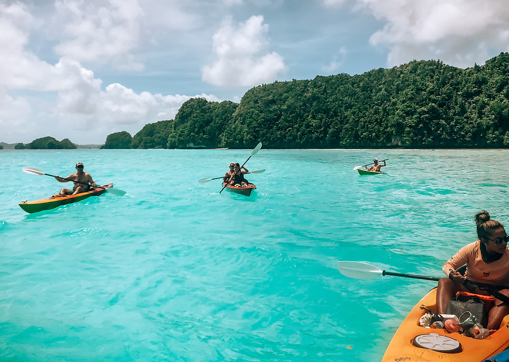 Kayaking | Sam's Tours | A Guide to Palau | A Style Alike