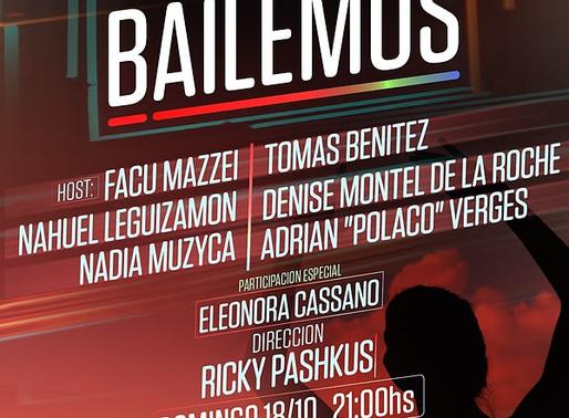 """Streaming: """"Bailemos"""", desde el Teatro Astral"""