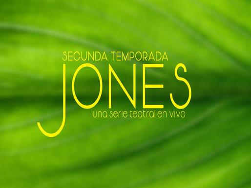 JONES: Un hermoso híbrido entre serie y teatro que no te puedes perder