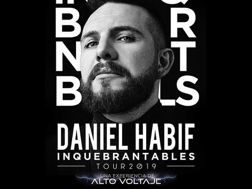 """Daniel Habif llega a Buenos Aires con su """"Inquebrantables Tour"""""""