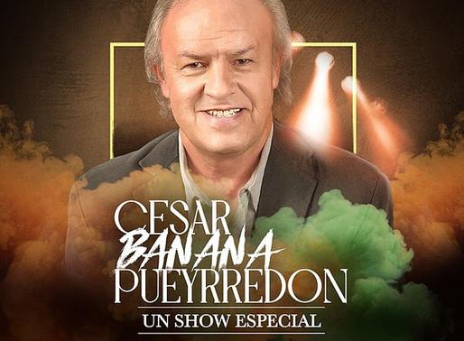 STREAMING: César Banana Pueyrredón presenta un show especial desde el Teatro Astral