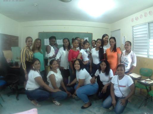 Yokasta Rodriguez desarrolla Taller en Republica Dominicana