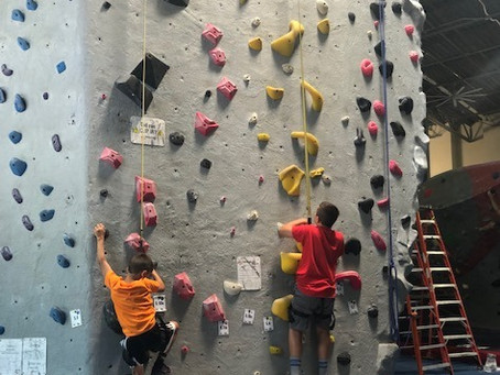 Five Career Lessons from Watching My Nephews' 1st Rock Climbing experience