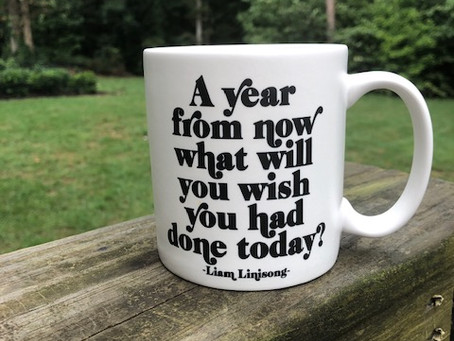 A Year from Now What will You Wish You had Done Today?