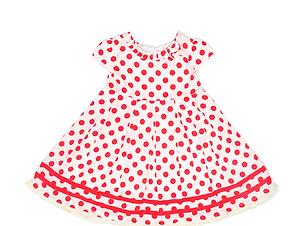 Polka-Punkt-Kleid