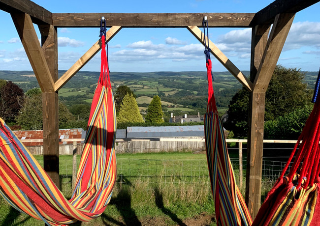 Hammocks with the lower Bell
