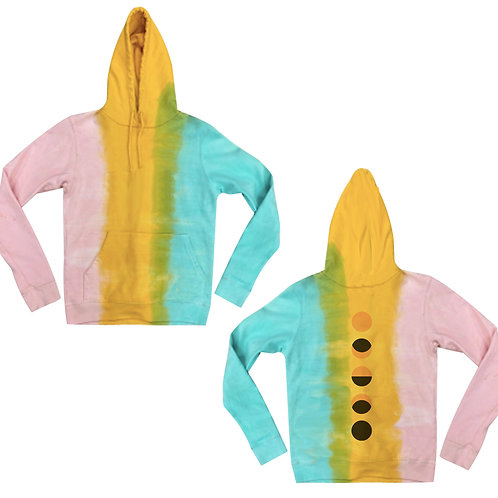 Cotton Candy Many Moons Hoodie