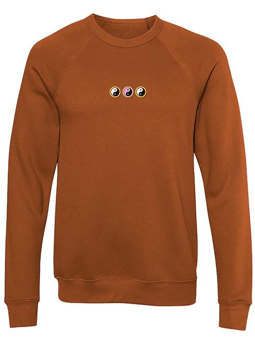 Yin & Yang - Embroidered Sweatshirt