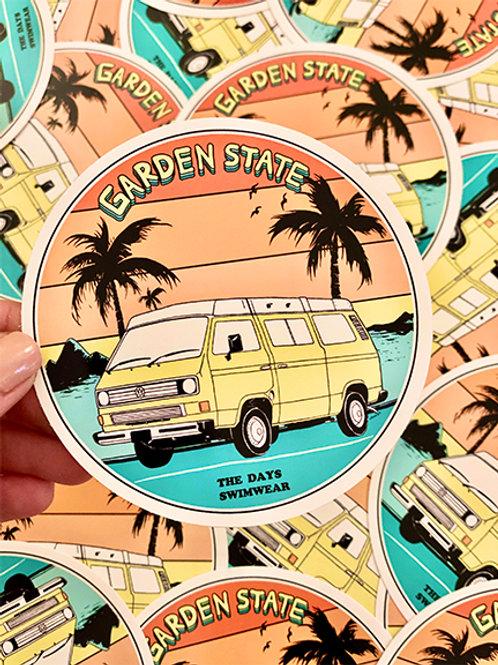 Garden State Vanagon Sticker