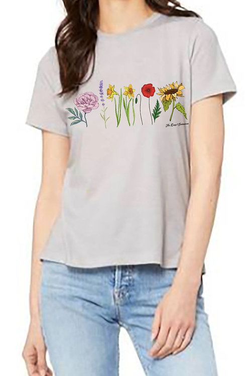 FLWR PWR Relaxed Tee