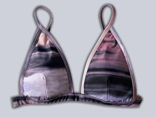Weekender Bikini Top - Tie Dye/Rose Gold