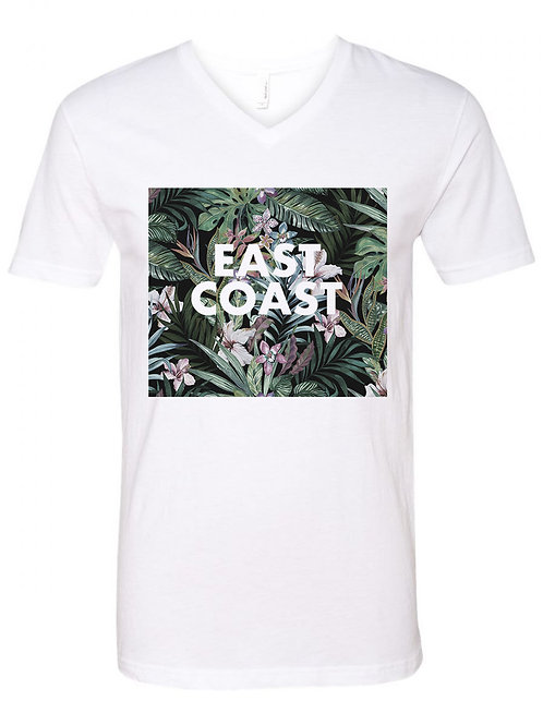 East Coast Unisex Tee - White