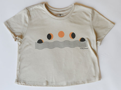 Many Moons Cropped Tee