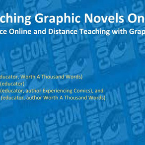 Teaching Comics Online: Comic-con@Home 2020