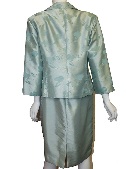 Jessica Howard Floral 2 PC Suit Size 16