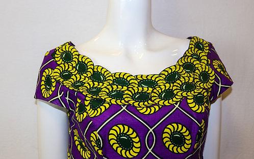 Ankara Print Dress