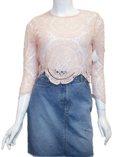 Ladie's Lace Top Size S/M
