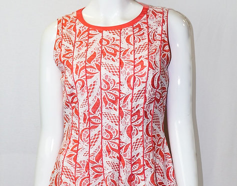 Coral Lace Sample Dress
