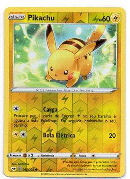Pikachu (65/202) rev. foil