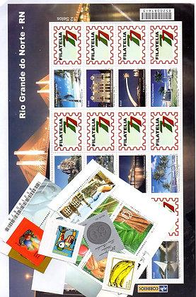 lote de selos novos mint (pc.002)