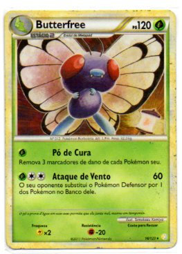 Butterfree (16/123) sp