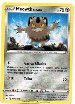 Meowth de Galar (127/202)