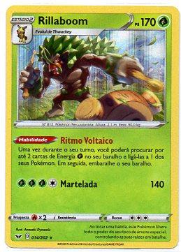 Rillaboom (14/202) foil