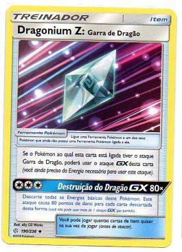 Dragonium Z: Garra de Dragão (190/236)