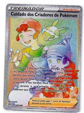 Cuidado dos Criadores de Pokémon (195/189)