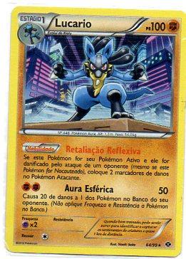 Lucario (64/99) foil