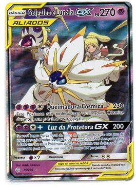 Solgaleo e Lunala GX (75/236)